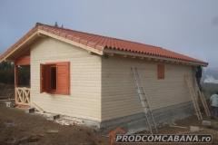 Izolatie casa lemn Pamplona 2011