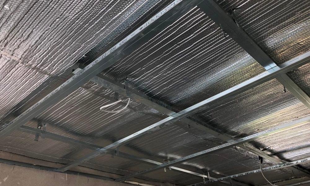 Izolare tavane casetate