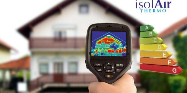 IsolAir Thermo termoizolația reflectivă care contribuie la atingerea standardului Nzeb al clădirii