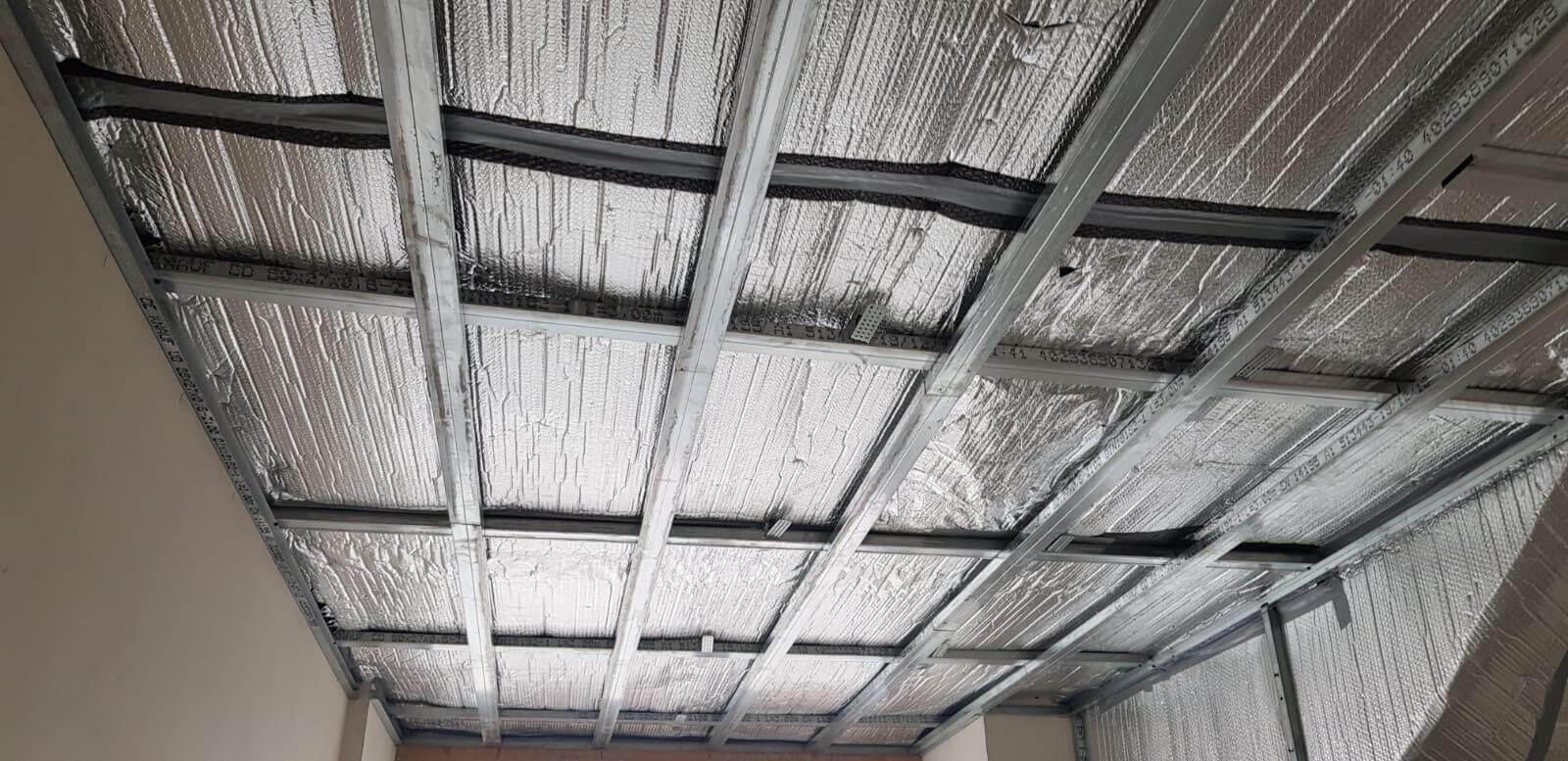 izolatie acoperis interior mansarda