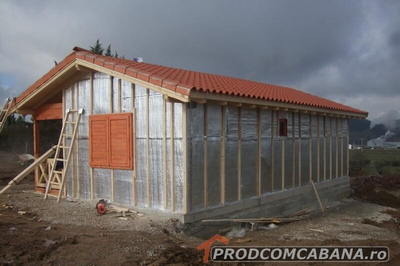 Izolare case din lemn
