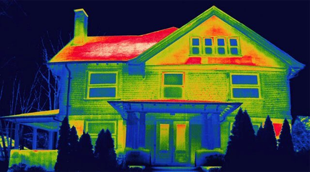 cum pierde caldura casa